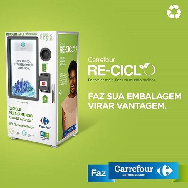 Parceria Triciclo & Carrefour