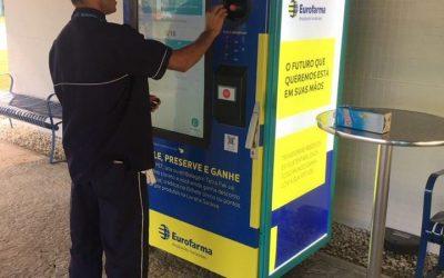 Eurofarma recebe uma Retorna Machine!