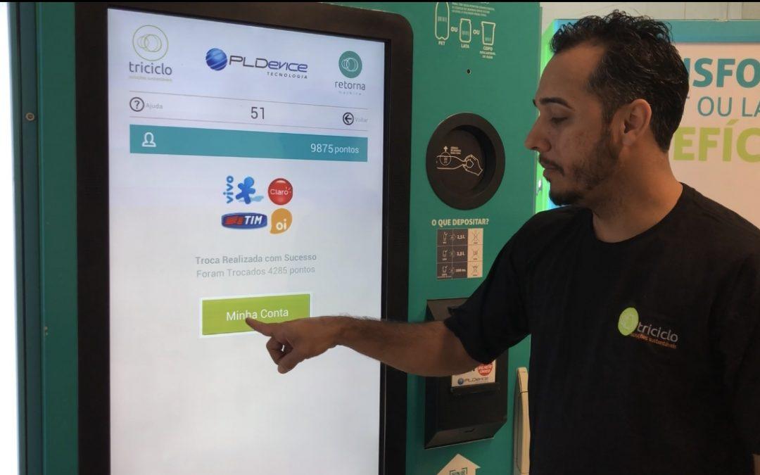 Novidade: troca de pontos triciclo por Recarga de Celular!
