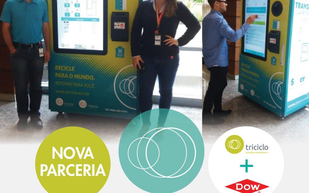 Triciclo e DOW Brasil iniciam parceria