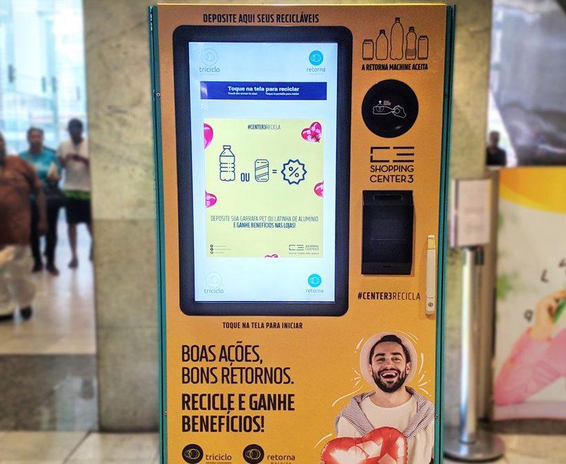 Retorna Machine chega ao Shopping Center 3 em São Paulo