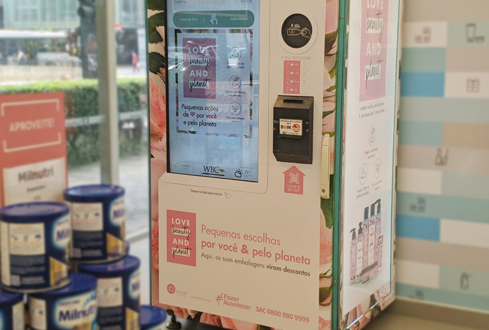 Retorna Machine agora está presente na Drogaria São Paulo, contando com a participação da Unilever