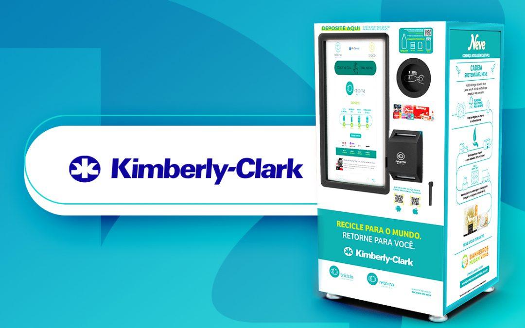 Novas Retorna Machines são instaladas em parceria com a Kimberly-Clark