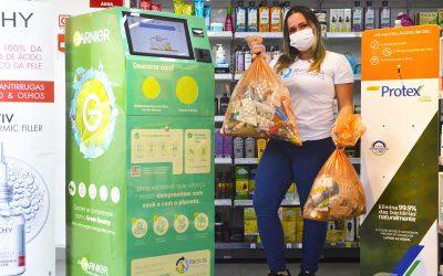 Novas Recicla Pharmas são instaladas na rede de farmácias Drogaria São Paulo